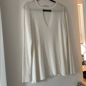 Urban Outfitters Ivory Tunic